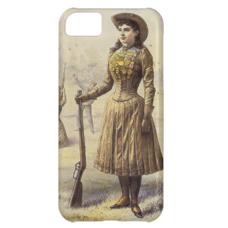 Vintage Miss Annie Oakley, Western Cowgirl iPhone 5C Case