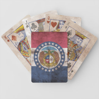 Vintage Missouri Flag Playing Cards