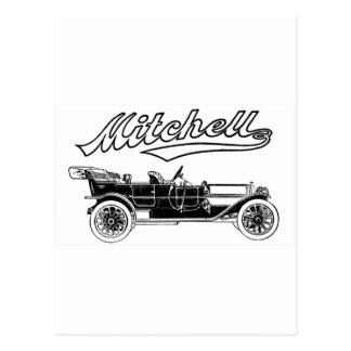 Vintage Mitchell Six Automobile Postcard