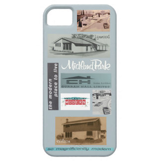 Vintage Modern House Mosaic! Case For The iPhone 5