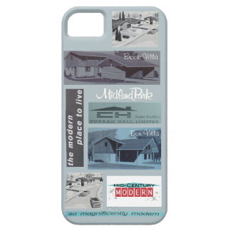 Vintage Modern House Mosaic! iPhone 5 Cover