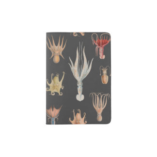 Vintage Mollusks Passport Holder