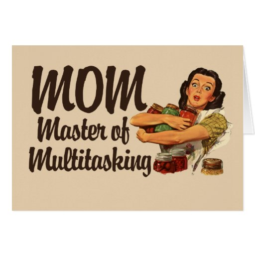 Vintage Mom Card