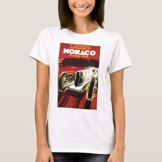 Vintage Monaco Car Road Race Poster T-Shirt