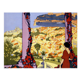 Vintage Monaco Monte Carlo Travel Postcard