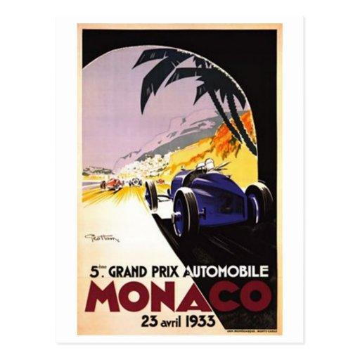 Vintage Monaco - Post Cards