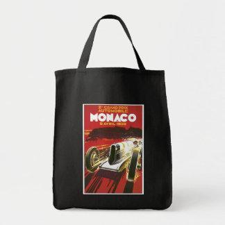 Vintage Monaco Travel Ad Bag