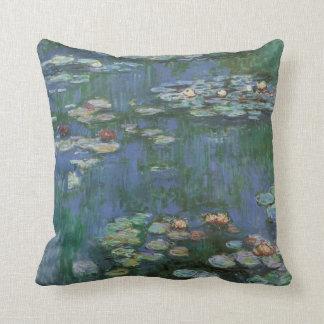 Vintage Monet Water Lilies Cushion