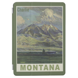 Vintage Montana custom name device covers iPad Air Cover