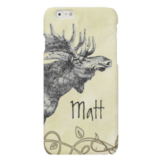 Vintage Moose iPhone 6 Plus Case