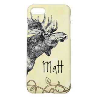 Vintage Moose iPhone 7 Case