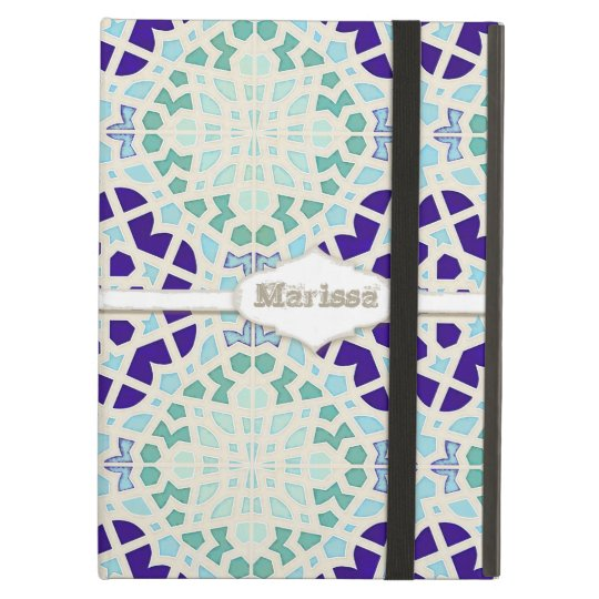 Vintage Moroccan Tile Abstract Pattern Modern Art Case
