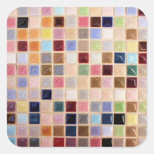 Vintage Mosaic Tiles Sticker