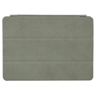 Vintage Moss Green Parchment Personalized Template iPad Air Cover