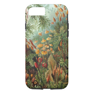 Vintage Moss Plants by Ernst Haeckel, Muscinae iPhone 8/7 Case