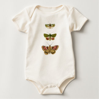 Vintage Moth Collection Baby Bodysuit
