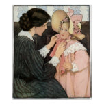 Vintage Mother and Child by Jessie Willcox Smith Poster