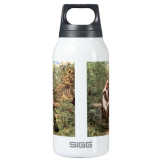 Vintage Mother and Child in a country setting Insulated Water Bottle