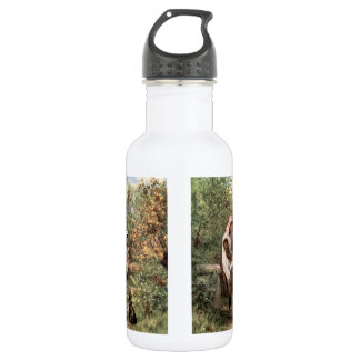 Vintage Mother and Child in a country setting 18oz Water Bottle