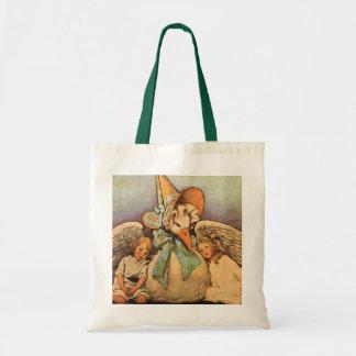 Vintage Mother Goose Children Jessie Willcox Smith Budget Tote Bag