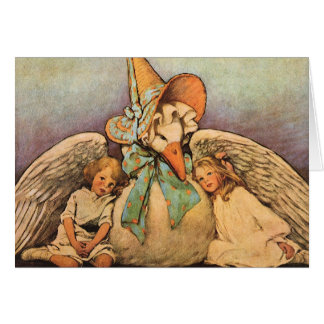 Vintage Mother Goose Children Jessie Willcox Smith Card