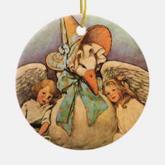 Vintage Mother Goose Children Jessie Willcox Smith Christmas Ornament