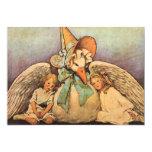 Vintage Mother Goose Children Jessie Willcox Smith Custom Invitations