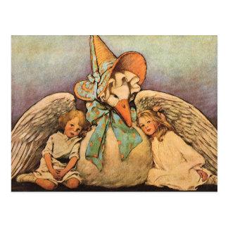 Vintage Mother Goose Children Jessie Willcox Smith Post Card