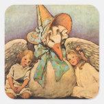 Vintage Mother Goose Children Jessie Willcox Smith Sticker