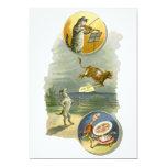Vintage Mother Goose Nursery Rhyme Baby Shower 13 Cm X 18 Cm Invitation Card