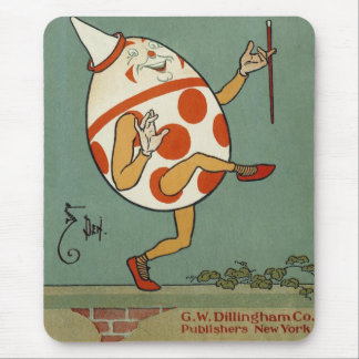 Vintage Mother Goose Nursery Rhyme, Humpty Dumpty Mouse Pads