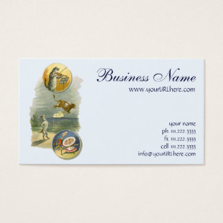 Vintage Mother Goose Nursery Rhyme Poem Business Card