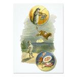 Vintage Mother Goose Nursery Rhyme Poem 13 Cm X 18 Cm Invitation Card