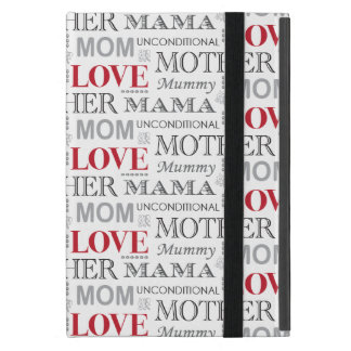 Vintage Mother s Love Mother s Day or Birthday iPad Mini Case