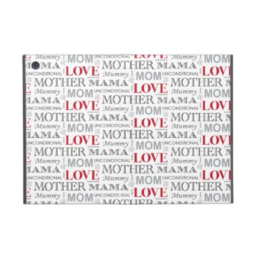 Vintage Mother's Love Mother's Day or Birthday iPad Mini Case