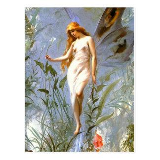Vintage Motive - Butterfly - Falero - Postcard
