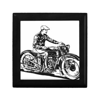 Vintage Motorcycle Gift Box