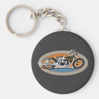 Vintage Motorcycle Keychain