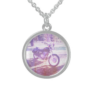 Vintage Motorcycle Necklace