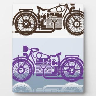 Vintage Motorcycle Plaque