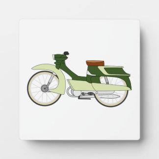 Vintage Motorcycle Photo Plaque