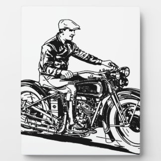 Vintage Motorcycle Plaques