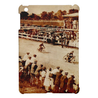 Vintage Motorcycle Race Case For The iPad Mini