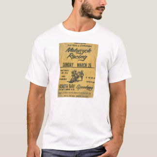 Vintage Motorcycle Race Poster T-shirt