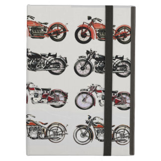 VINTAGE MOTORCYCLES iPad AIR COVERS