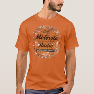 Vintage Motorola radio service T-Shirt