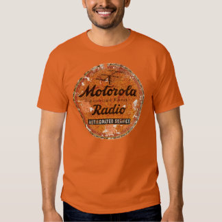 Vintage Motorola radio service Tshirt