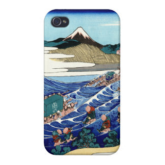 Vintage Mount Fuji Painting iPhone 4 Cases