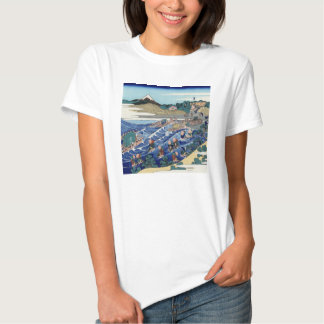 Vintage Mount Fuji Painting Shirt