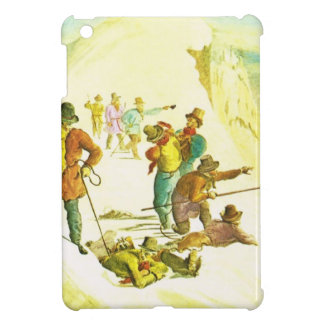 Vintage mountain climbers case for the iPad mini